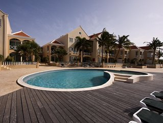 Apartment Seaside Port Bonaire A202 - On the second floor with terrace with oce