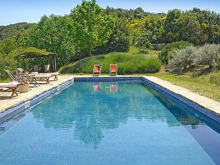 SPECTACULAR Nature Oasis Farmhouse w/ Hilltop Panoramic Views, Saltwater Pool
