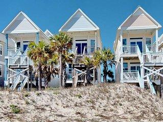 FREE BEACH GEAR! Beachfront, Pet Friendly, Free Wi-fi, 3BR/3BA 'Above the Dune'
