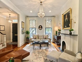 Location, Location, Location! Stately Historic Townhome Off Pulaski Square