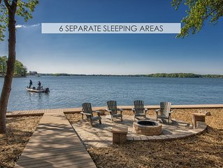 6 Separate Sleeping Areas