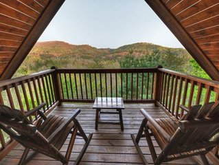 Awesome Mountain View with hottub, wifi, and more!