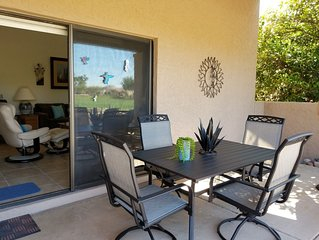 Rio Verde Townhouse overlooking the golf course.