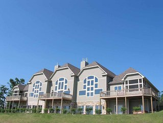 Sunlit and serene, Overlook Mountain Villa #4C is a spacious townhome that enve