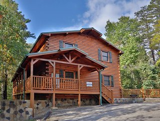 With private wooded views you will feel as if you are part of the Smokies.