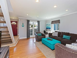 Gorgeous Beach House, 3.5 Blks to Sand, Recently Remodeled