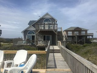 ***Dolphins  in your front yard and miles of sandy beach here at Double Dunes***