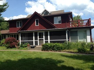 Beautiful Lakefront Cottage.  3 Bedrooms, 2 Bath,  An Hour From Detroit
