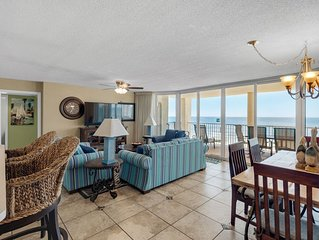* Gorgeous Condo *  All Rooms Ocean Front! Long Beach Resort W/Free Bch. Chairs!