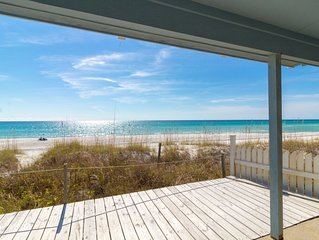 Paradise30A ~ One Step, Newly Remodeled, Beach Front, 2 Bikes & 1 Beach Chair Se