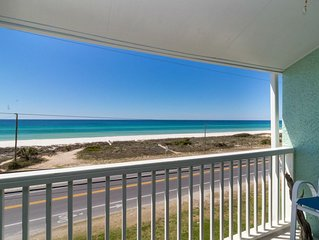 LORVIS LAIR ~ Amazing Unobstructed Gulf Views w/ Community Pool