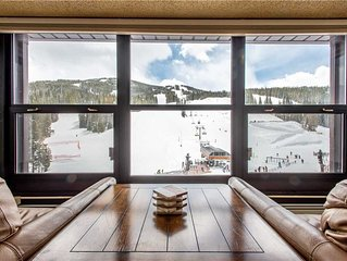 Burning Stone's best view.  Perfect for Concerts and Skier watching!!!