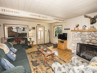 Catalpa Vista: 4 BR / 2 BA house/cabin in Tahoe Vista, Sleeps 8
