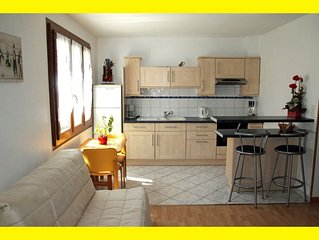 Furnished new studio centers annecy close lake an