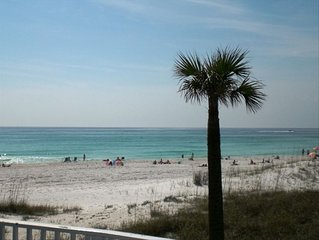 Gorgeous Gulf-Front 2 BR/2 BA-1st Floor - Pet Friendly - Prime Weeks Available!