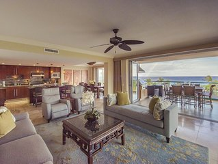 Breathtaking Family Luxury~Maui Ocean Front~Once in a lifetime vacation 3 bd/3ba
