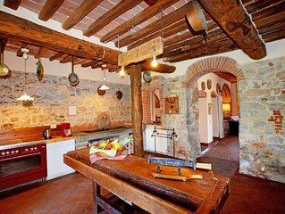 Ferienhaus Il Molino in Gaiole in Chianti - 9 Personen, 5 Schlafzimmer