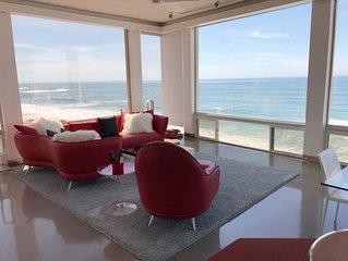 Stunning Ocean front property overlooking the famous Windansea Beach.