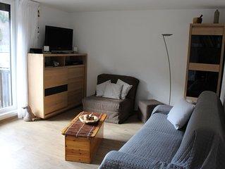 Studio21m²-  2* - centre - wif - balcon - parking privé - linge compris