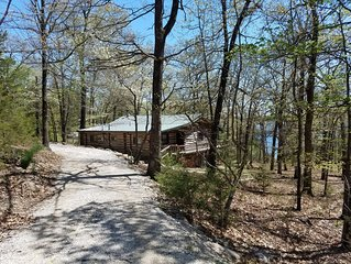 Latham's Log Cabin - Swim Dock, Lakefront & Secluded!  The Best Lake Experience!