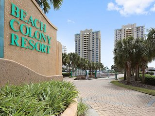 Beach Colony West Perdido Key Dynamic Gulf Views Located Directly on Beach