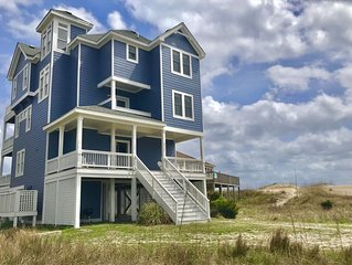 6BR/5 Bath, Semi-oceanfront, Fantastic Views! Hot tub/ Heated pool/Elevator!