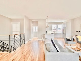 Newly Renovated Modern Home in the Heart of City!  A block from King St!