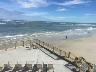 Awesome Oceanfront Family Beach Rental | Huge Deck! | Pet Friendly