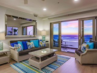 New Build Luxury Oceanfront Penthouse! Light, bright, and beautiful!