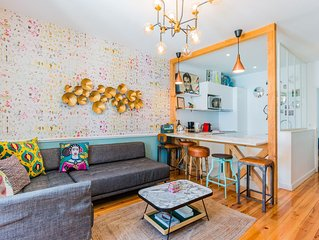 Sunny 3 bedrooms appartment in charming heart of Lisbon