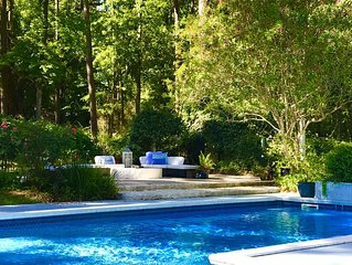 Great for Large Groups, Families, Very Private. Pool, Fire Pit, 3 Private Suites