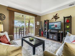 Waikoloa Beach Villas E33 - TOP FLOOR 2 Bedroom Villa with a BBQ!!
