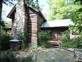 Charming Rebuilt 1850s Cabin in Pisgah Forest