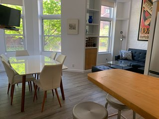 2BR + large sleeping loft/2Bath 1 block from Central Park on UWS