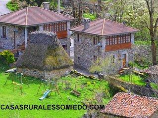 Casa rural (alquiler íntegro) Las Corradas para 6 personas