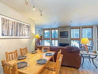 Hand-finished Plaster, Granite and Leather Accent this Upgraded 3-bedroom Condo