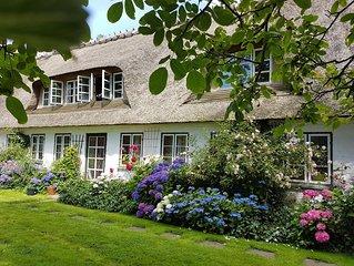 Ferienhof SONDERBYGAARD: Gemütl. Gaubenwohnung f. Paare/kleine Familie, mit WLAN