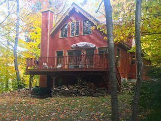 3 Br House- Private Saco River Beach, Mountain Views, Near Storyland & Attitash