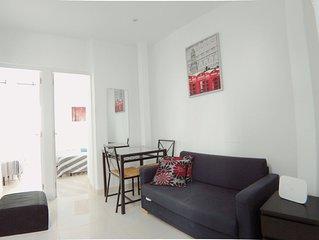 Apartamento de 2 Habitaciones en Puerta del Ángel (2ºB)