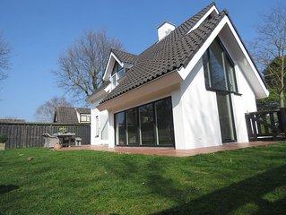 Ruime gezellige en comfortabele  villa (135m²)bij strand en duinen