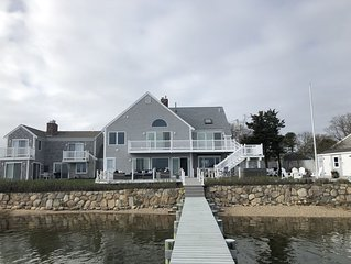 Fabulous water front home with private  dock & Pier ,  beach & firepit