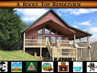 A Rocky Top RendezView} 2br \ 2ba \ sleeps 4-8-We Survived the Fire!