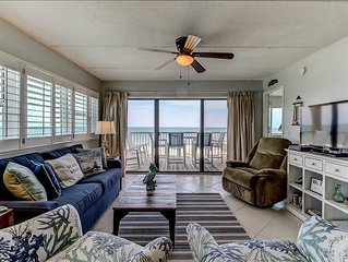 Newly remodled 5th Floor 2 Bed/2 Bath Oceanfront condo with beautiful views! Sle