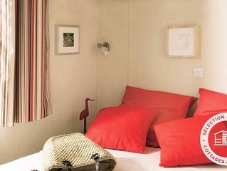 Camping Le Moteno**** - Maeva Camping - Mobil Home Jacinthe Confort Plus 4 Piece