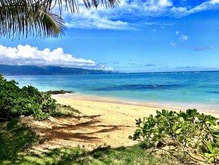 Hide Away Beach Front Luxury Retreat, Pool, Kite, Windsurf, SUP, large yard