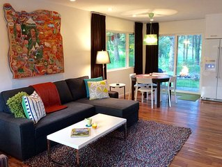 3ONE8 Manzanita ~ modern retreat w/ private back yard