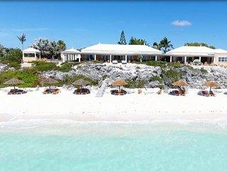 Luxurious 4-12 Bedroom Sandy Beachfront Tennis Villa ~ 24/7 Dedicated Concierge