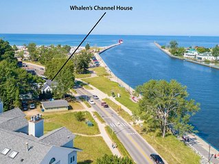 Waterfront, Lake & Channel Views, Best Location on Grand Haven Channel
