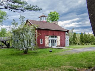 Historic Catskills Hideaway Near Saugerties, Woodstock, Kingston & HITS