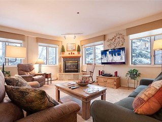 Premier-rated condo near Gondola! Recently remodeled, heated pool/hot tub, wint